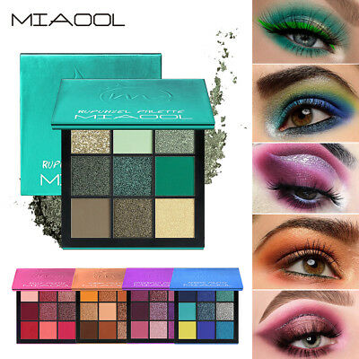 New Eyeshadow Palette Beauty Makeup Shimmer Matte Gift Eye Shadow Cosmetic Tools