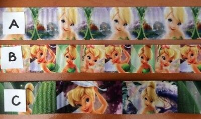 Tinkerbell Grosgrain Ribbons sold by 2M - see listing for details- Hair Bows etc