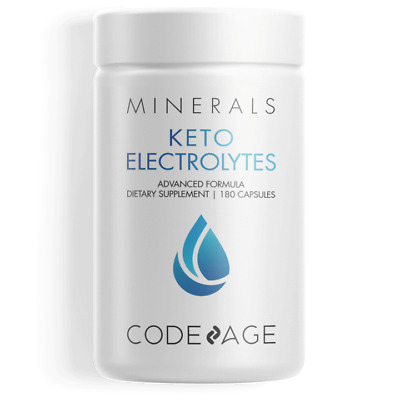 Energy Supplement for Low Carb or Keto - Sodium, Calcium, Potassium & Magnesium