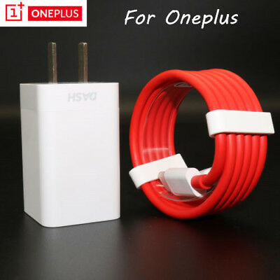 Original Oneplus 6T 6 Fast Charger 5V/4A Travel Wall Power Adapter USB-C Cable