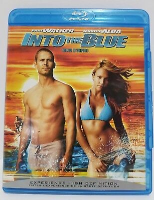 Into the Blue: Blu-ray movie - HD - Canadian - NO SCRATCHES + warranty