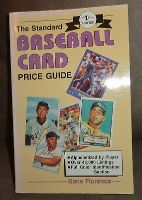 The Standard Baseball Card Price Guide-1st Edition