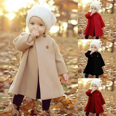 Fall /Winter Jacket Outwear Clothes Newborn Infant Baby Girl outerwear Coat Kid