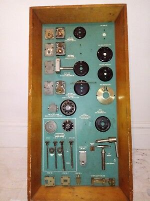 Sargent and Greenleaf Store display Safe Lock bolts latches combinations dials