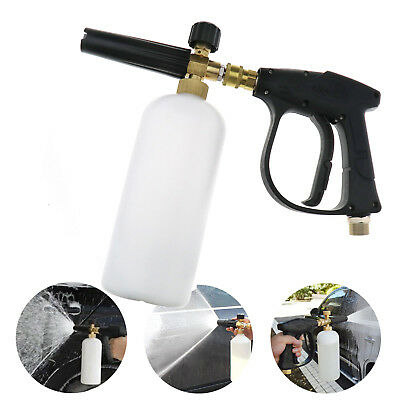 Foam Lance Sprayer Washer Soap Bottle Car Pressure Washing Spray Gun 1L 1/4""