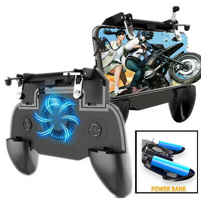 Phone Game PUBG Mobile Controller  Joystick Cooling Fan Gamepad for Android IOS