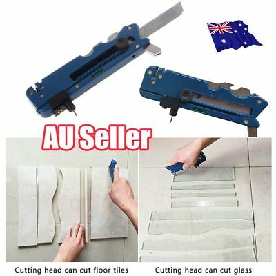 Multifunction Glass Tile Cutter Knife Blade Sharpener Cutting Craft Hand Tool LG