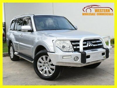 2007 Mitsubishi Pajero NS Exceed Wagon 7st 5dr Spts Auto 5sp 4x4 3.8i (Mar ) A