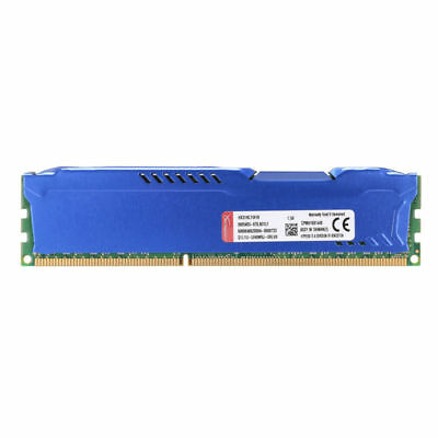 8GB 2Rx8 PC3-12800 DDR3-1600 240PIN Desktop Memory For Kingston HyperX