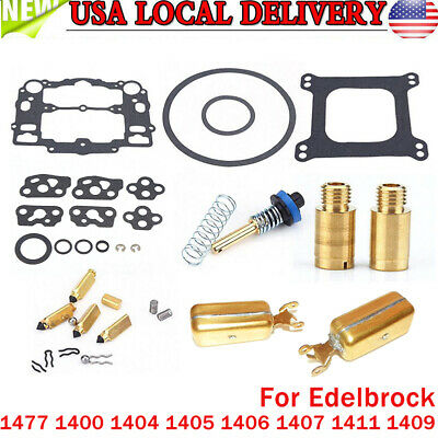 New Carburetor Rebuild Kit For EDELBROCK 1477 1400 1404 1405 1407 1409 1411 US