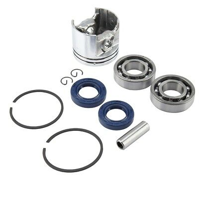 37mm Piston Ring Bearing Oil Seal Kit For Stihl MS170 017 Chainsaw 1130 030 2000
