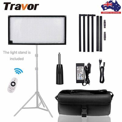 AU Travor Bi-Color LED Video Light 3200-5600K Lighting Kits For Shooting Studio