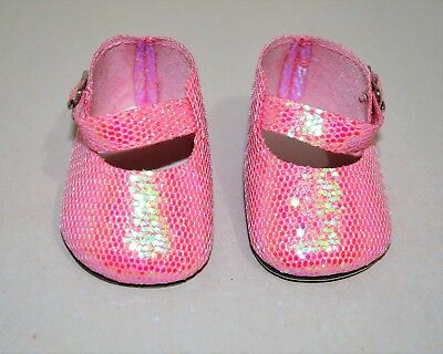 American Girl Dolls Clothes Our Generation 18 Doll Clothes Pink Glitter Shoes