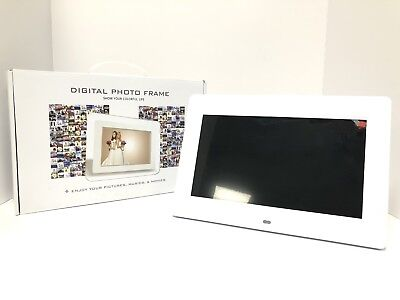 Digital Photo Frame - Pictures, Video Clips & Sound