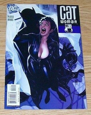 Catwoman #45 - Adam Hughes Cover  -  Dc Comics - September 2005