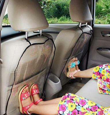 Car Seat Back Protector Cover for Children Babies Kick Mat Protector RE