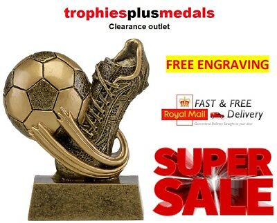 Football Trophy / Award Man of the match 7.5cm **Free Engraving**(A1694)
