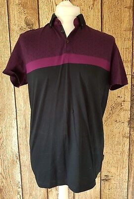 4b9ccb7eaff7a TED BAKER MENS T Shirt Top VGC Size 4 Authentic Genuine -  3.63 ...