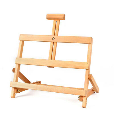 'KIELDER' Wooden Book Stand Table Top Easel for Painting & Sketching