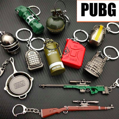 PUBG Playerunknowns Battlegrounds Keychains Weapons Armor On The Keys As A Gift