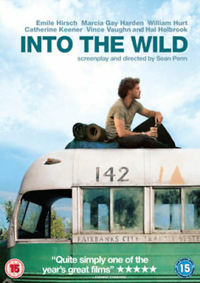 Into The Wild DVD Emile Hirsch 2007 Based On True Story - NEW SEALED DVD