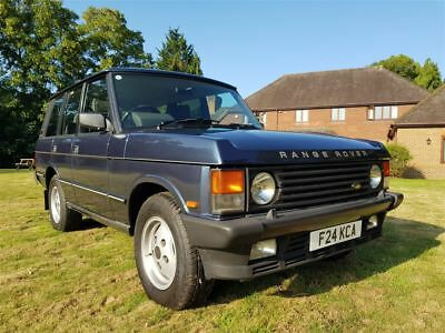 1989 Range Rover Vogue Classic V8 2 former keepers