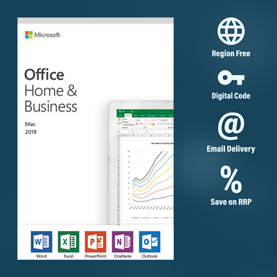 Microsoft Office Home and Business 2019 (1 MAC)
