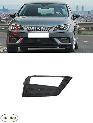 FOR SEAT LEON 1P1 2005-2009 FRONT BUMPER FOG LAMP GRILL LEFT N//S WITH HOLE