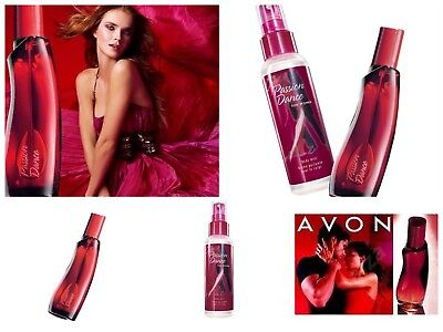Avon Passion Dance Eau de Toilette Perfume Spray and body spray 100ml