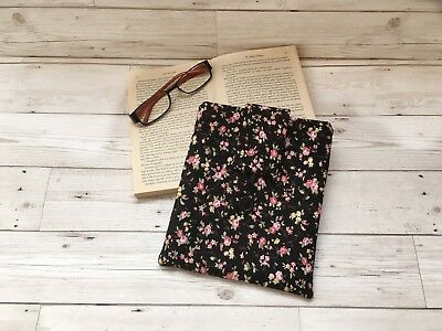 Handmade Book Sleeve, Floral Gift, Book Lover Gift, Bookish Gift, Book Cover,