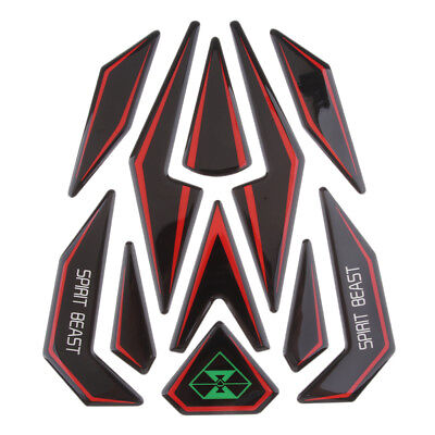 3D Motorcycle Reflective Fuel Tank Protector Pad Cover Sticker for Honda KTM