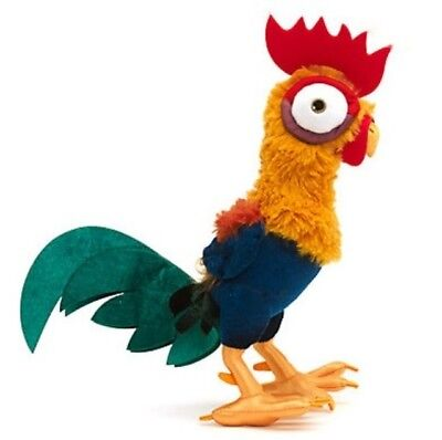 New Official Disney Moana 32cm Hei Hei The Rooster Bird Soft Plush Toy Teddy