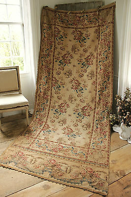 Curtain Antique French timeworn panel AGED drape large