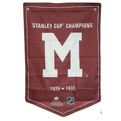 Montreal Maroons NHL 2018 Molson Canadian Stanley Cup Champions Banner Coors