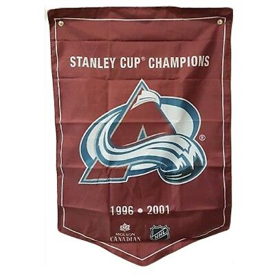 Colorado Avalanche NHL 2018 Molson Canadian Stanley Cup Champions Banner Coors