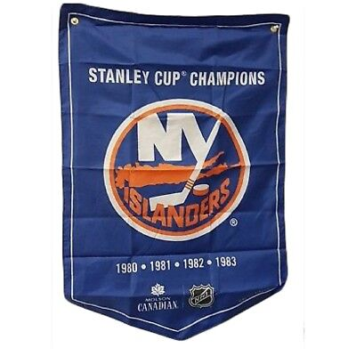 New York Islanders NHL 2018 Molson Canadian Stanley Cup Champions Banner Coors