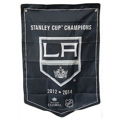 Los Angeles Kings NHL 2018 Molson Canadian Stanley Cup Champions Banner Coors
