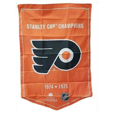 Philadelphia Flyers NHL 2018 Molson Canadian Stanley Cup Champions Banner Coors