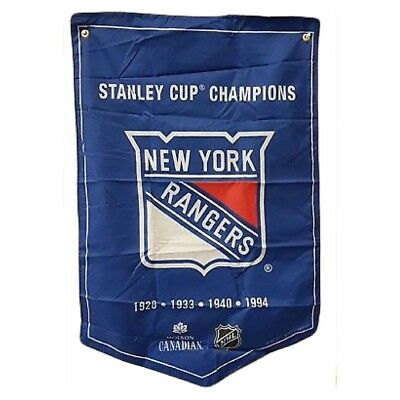 New York Rangers NHL 2018 Molson Canadian Stanley Cup Champions Banner Coors