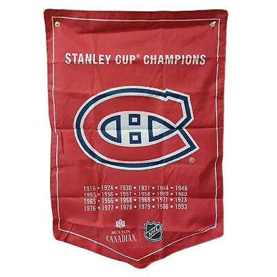 NHL 2018 Molson Canadian Stanley Cup Champions Banners Coors