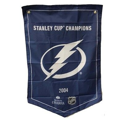 Tampa Bay Lightning  NHL 2018 Molson Canadian Stanley Cup Champions Banner Coors