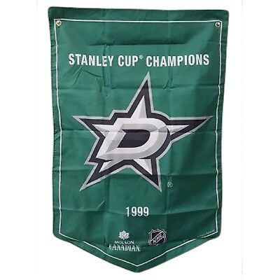 Dallas Stars NHL 2018 Molson Canadian Stanley Cup Champions Banner Coors
