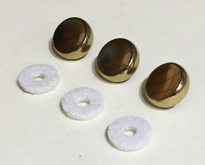 Benge X Series Trumpet Finger Buttons with Felts - Set of 3