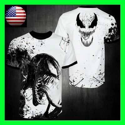 Very Good Quality Venom Movie Shirt long/short sleeve Custom shirt Handmade USA!