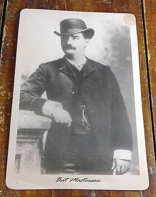 Bat Masterson Old West Lawman Policeman Dodge City KS Kansas Photo Photograph