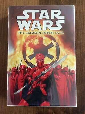 Star Wars: Crimson Empire Saga Hardcover Beautiful! Look!