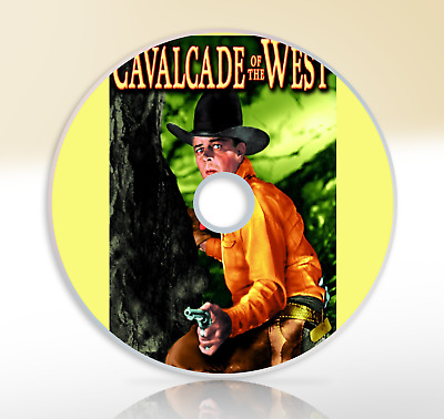 Cavalcade Of The West (1936) DVD Classic Western Movie / Film Hoot Gibson
