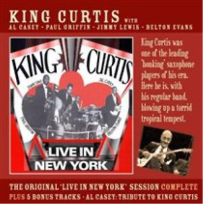King Curtis-Live in New York CD NEUF