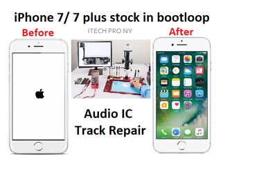 Lot Of 7 Iphone 7 7 Plus Audio Ic No Sound Freeze Touch Repair Service Fast Usa