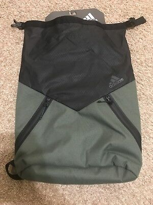 ADIDAS SPORT ID PACK SACKPACK Backpack Olive Black CJ7641 NEW ... 7e2ed912ab0f2